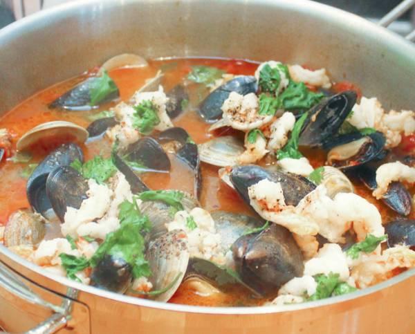 Рецепт Буйабес с омарами