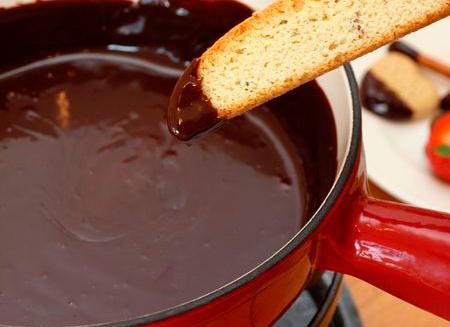 Рецепт Шоколадное фондю