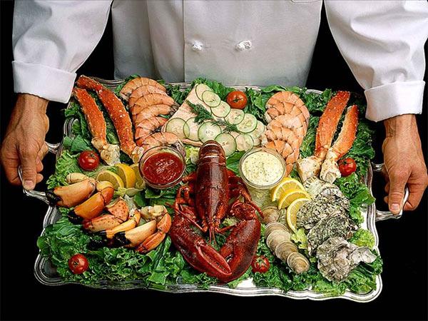 Морские обитатели - полезные деликатесы