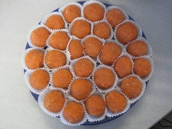 Рецепт Румынские морковные конфеты