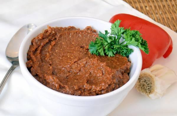 Рецепт Абхазская аджика на зиму
