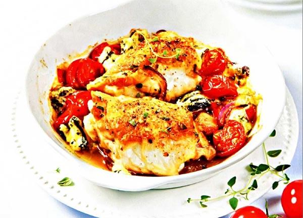 Рецепт Курица по средиземноморски