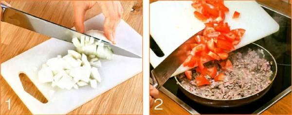 """Сытная запеканка """"Мусака"""" с баклажанами и картофелем и мясом по гречески"""