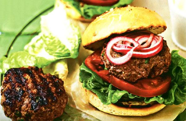 Рецепт Домашний гамбургер и приготовление булочек для гамбургеров