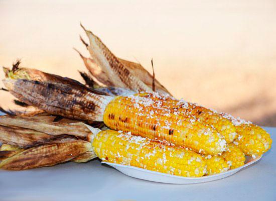 Рецепт Кукуруза на гриле по мексикански