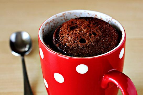 Рецепт 5 минутный шоколадный пирог в кружке в микроволновке