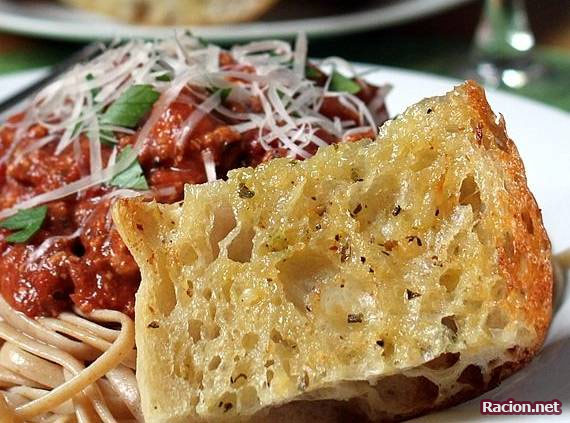 Рецепт Итальянские гренки с чесноком