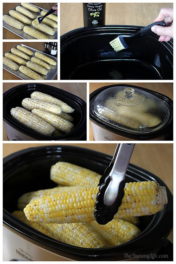 Рецепты кукурузы в пароварке