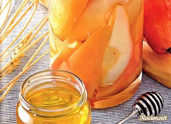 Рецепт Компот из груш с медом