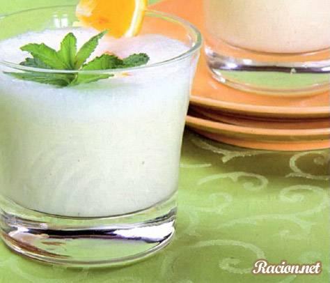 Рецепт Молочный коктейль с мороженым и апельсином