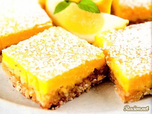 Рецепт Лимонное печенье