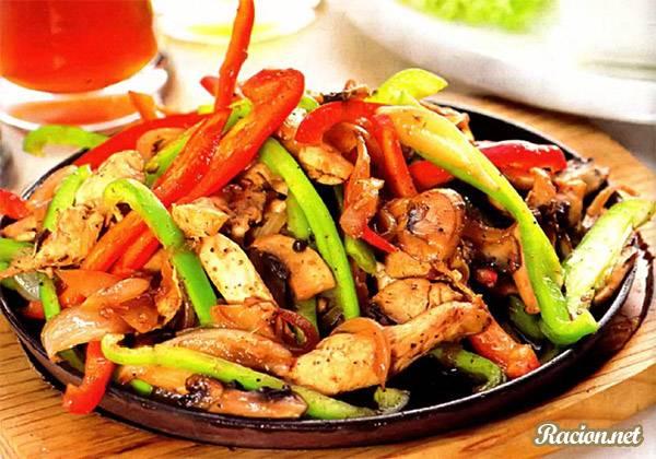 Рецепт Свинина с грибами по китайски