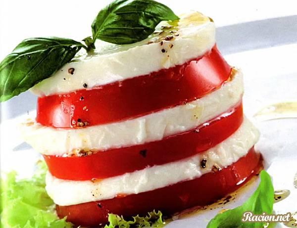 Рецепт Итальянский салат капрезе