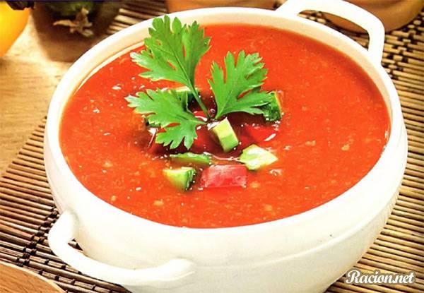 Рецепт Испанский суп гаспачо