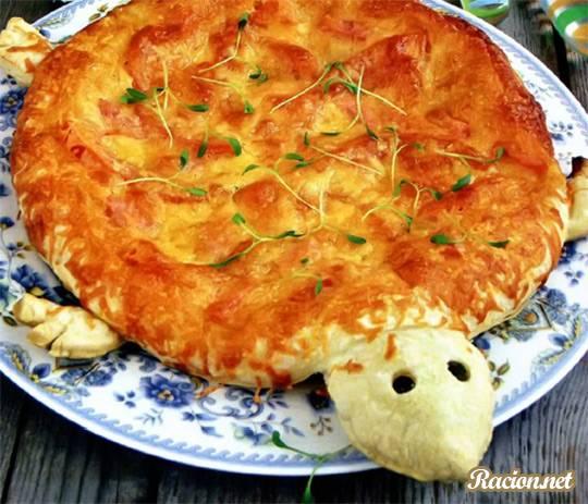 Рецепт Пицца «черепашка»