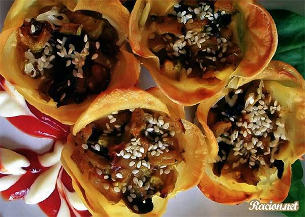 Рецепт Картофельные цветы с начинкой