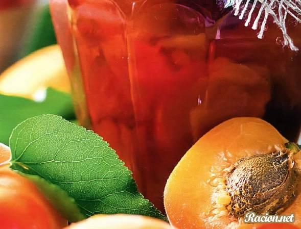 Рецепт Варенье из крыжовника и персиков