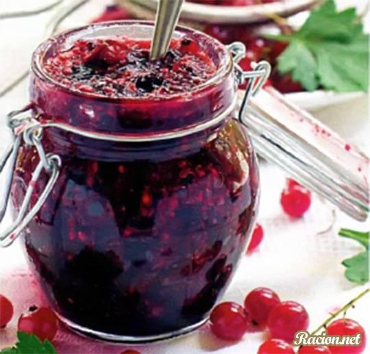 Рецепт Варенье из красной смородины