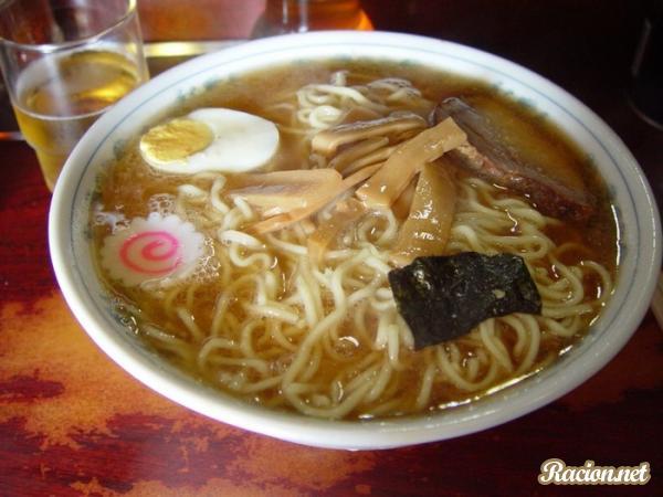 Рецепт Японский суп рамен со свининой