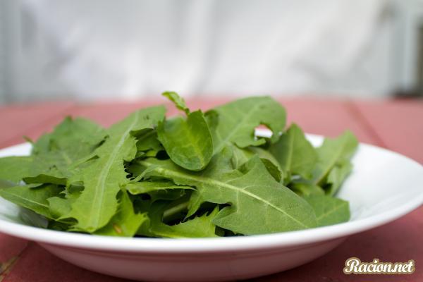 салат одуванчик с фото