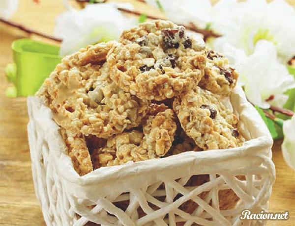Рецепт Овсяное печенье без выпечки