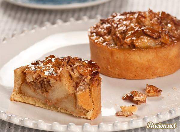 Рецепт Яблочный тарт Руане