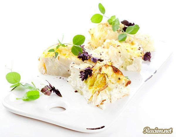 Рецепт Капуста в хрустящей панировке с рикоттой