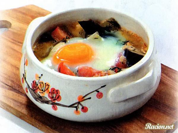 Рецепт Баклажаны запеченные в духовке с яйцами
