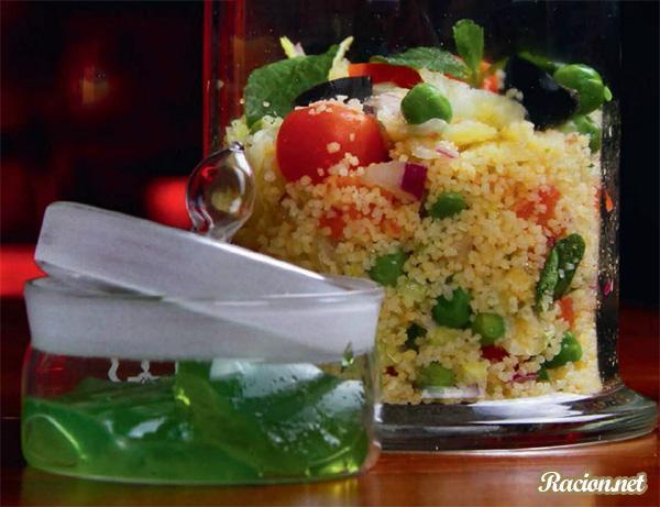 Рецепт Салат Табуле с кускусом