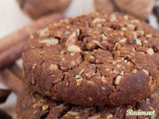 Рецепт Шоколадное печенье с орехами
