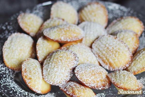 Рецепт Французское печенье Мадлен