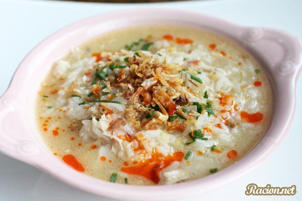 Рецепт Малайзийский рисовый суп с курицей