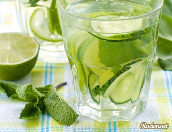 Рецепт Огуречный лимонад с лаймом