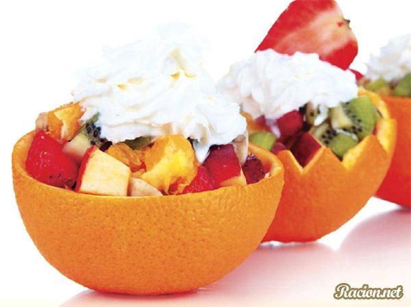 Рецепт Апельсиновые корзиночки