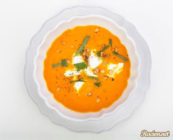 Рецепт Тыквенный крем суп пюре для детей