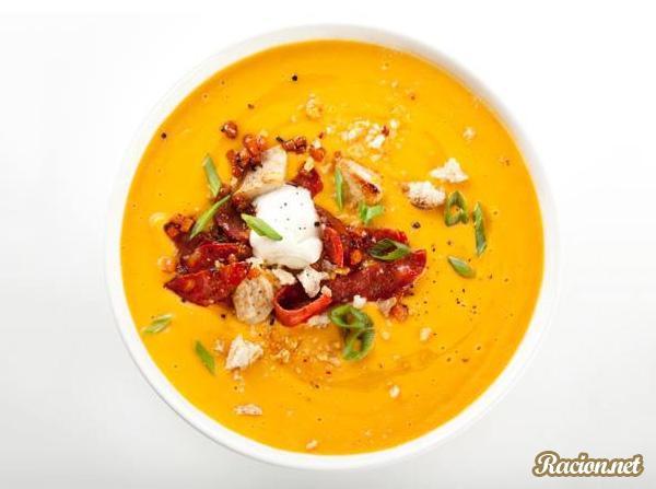 Рецепт Куриный суп пюре с картофелем