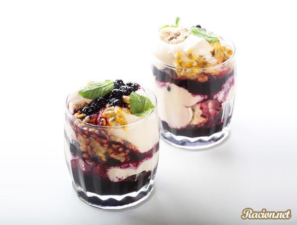 Рецепт Домашний пудинг английский с черникой