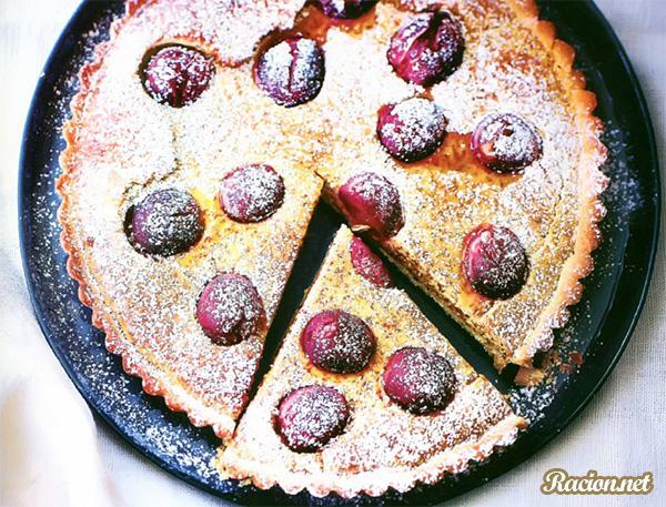 Рецепт Французский пирог тарт с виноградом