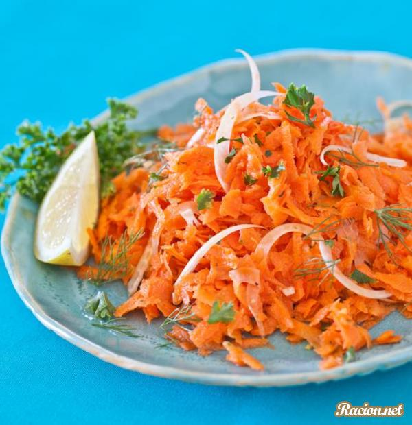 Рецепт Французский салат из моркови с фенхелем