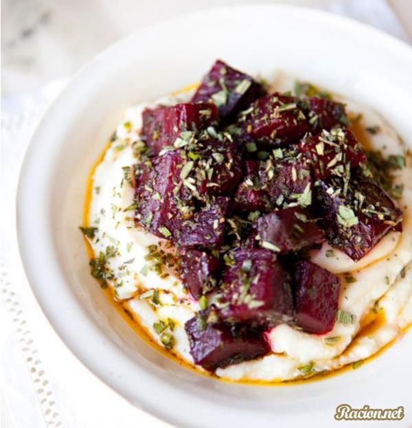 Рецепт Овощное пюре из сельдерея со свеклой