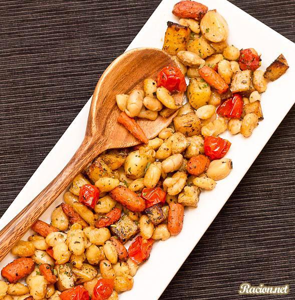 Рецепт Лобио из фасоли с морковью и картофелем