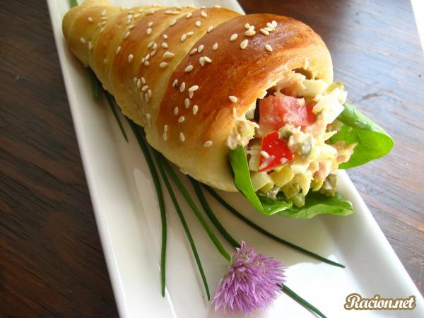 Рецепт Хлебные трубочки