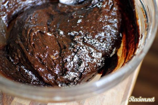 Шоколадное печенье из мяты