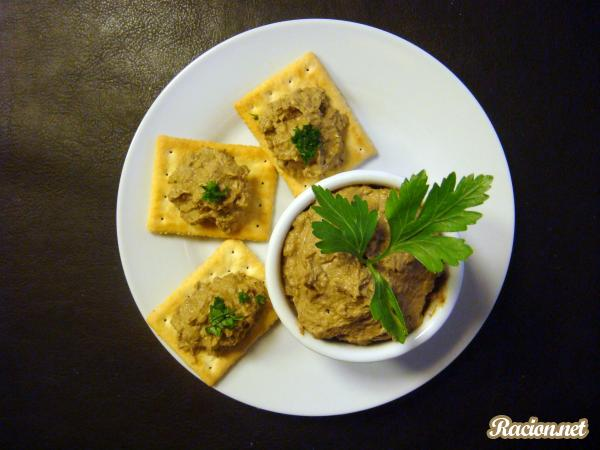 Рецепт Паштет из печени говядины