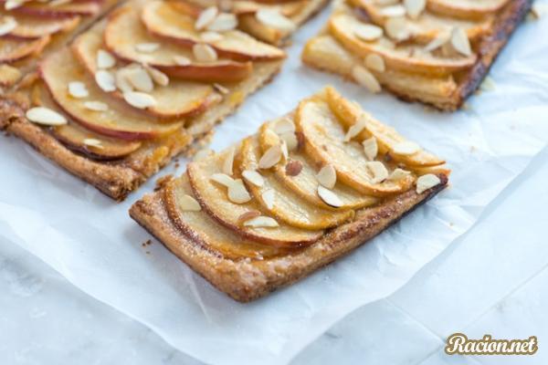 Рецепт Быстрый яблочный тарт