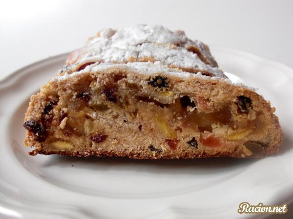 Рецепт Немецкий простой кекс на Рождество (Stollen)
