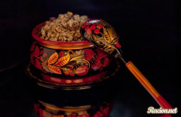 Рецепт Кутья из риса с изюмом (Кутя)
