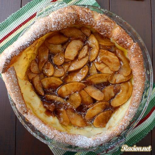 Рецепт Голландские яблочные оладьи