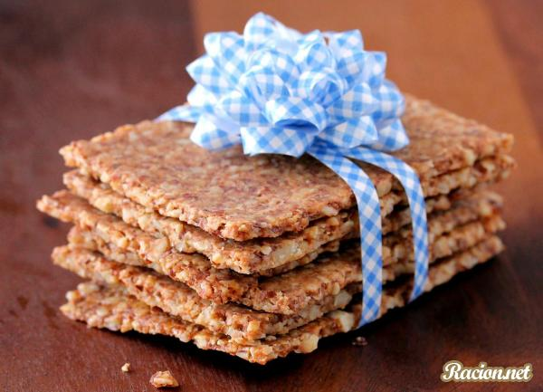 Рецепт Миндальные крекеры (хлебцы)