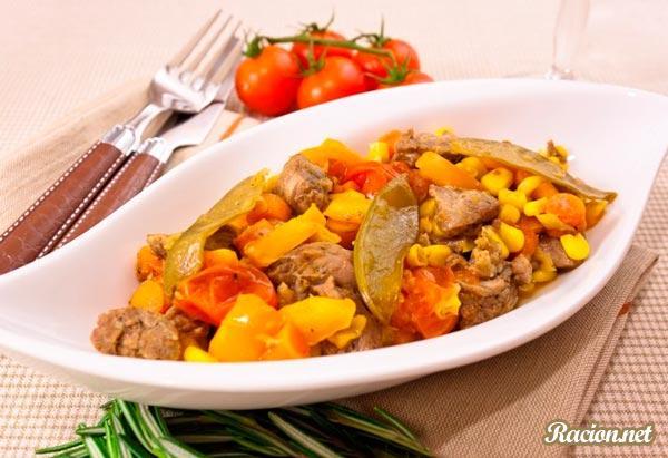 Рецепт Мясо от Анастасии Скрипкиной в духовке